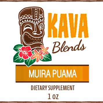Happy Kava Muira Puama Tincture