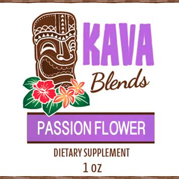 Happy Kava Passion Flower Tincture